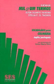 VOCABULARIO PARA CULINARIA INGLES / PORTUGUES
