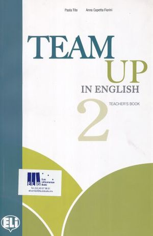 TEAM UP IN ENGLISH 2. TEACHERS BOOK (INCLUDE 2 CD)