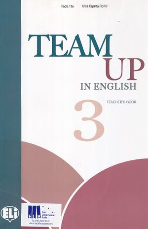 TEAM UP IN ENGLISH 3. TEACHERS BOOK (INCLUDE 2 CD)
