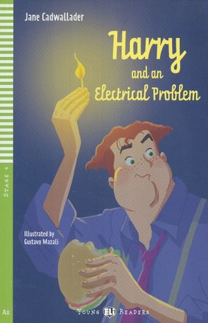 HARRY AND AN ELECTRICAL PROBLEM. A2 STAGE 4 (INCLUYE CD)