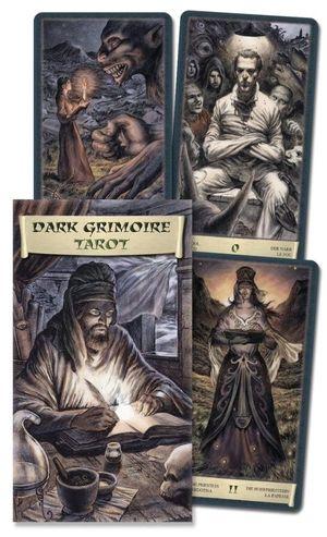 Tarot Dark Grimoire (Libro + 78 cartas)