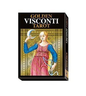 Tarot Golden Visconti. Grand Trumps (Libro + cartas)