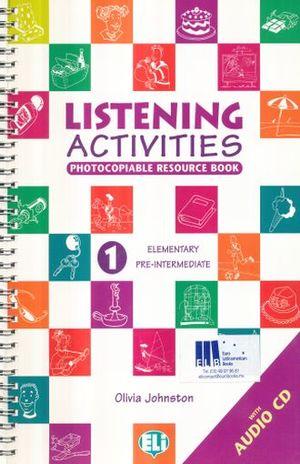 LISTENING ACTIVITIES 1 ELEMENTARY PRE INTERMEDIATE (INCLUYE CD)