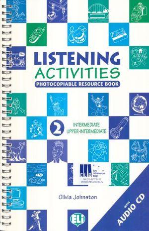 LISTENING ACTIVITIES 2 INTERMEDIATE UPPER INTERMEDIATE (INCLUYE CD)