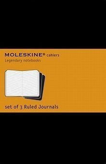 CAHIER L RULED BLACK COVER / MOLESKINE