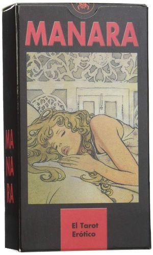 Manara. El tarot erótico (Libro + 78 cartas)