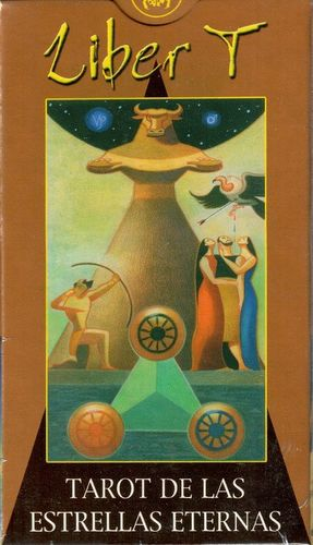 Liber T. Tarot de las estrellas eternas (Libro + 78 cartas)