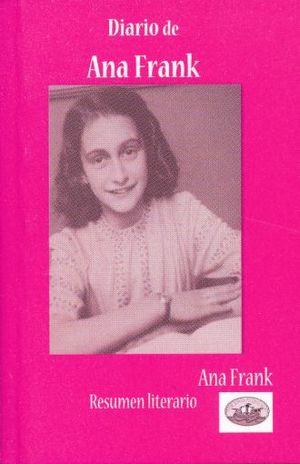 MI LIBRITO DIARIO DE ANA FRANK. RESUMEN LITERARIO