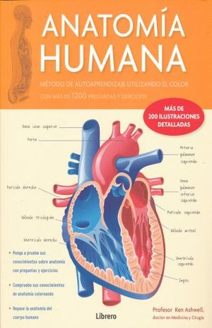 ANATOMIA HUMANA. 1200 PREGUNTAS