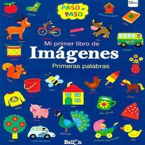 MI PRIMER LIBRO DE IMAGENES. PRIMERAS PALABRAS PASO A PASO / PD.