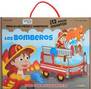 Los bomberos (Incluye puzzle 3D y libro)