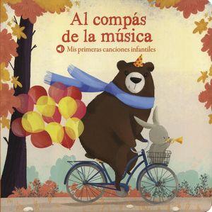 AL COMPAS DE LA MUSICA. MIS PRIMERAS CANCIONES INFANTILES / PD.