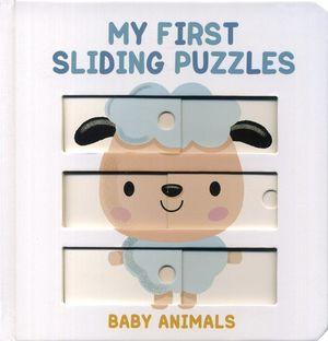 My first sliding puzzles. Baby animals (En inglés) / pd.