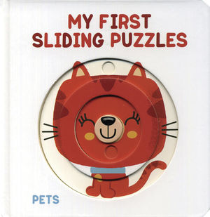 My first sliding puzzles. Pets (En inglés) / pd.
