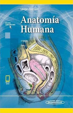 ANATOMIA HUMANA T2 / 5 ED. / PD. / (INCLUYE SITIO WEB Y EBOOK)