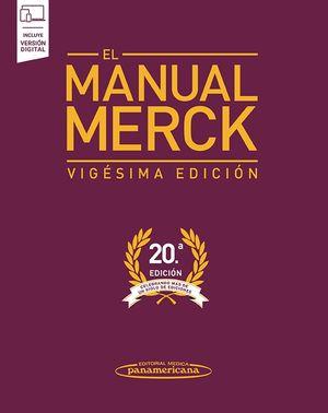 El manual Merck de diagnóstico y terapéutica / 20 ed. (Incluye versión digital)