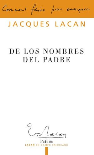 DE LOS NOMBRES DEL PADRE