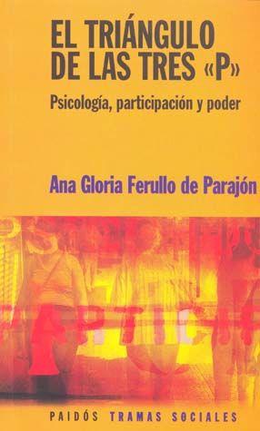 TRIANGULO DE LAS TRES P. PSICOLOGIA PARTICIPACION Y PODER