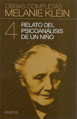RELATO DEL PSICOANALISIS DE UN NIÑO / TOMO IV