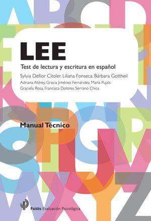 LEE TEST DE LECTURA Y ESCRITURA EN ESPAÑOL