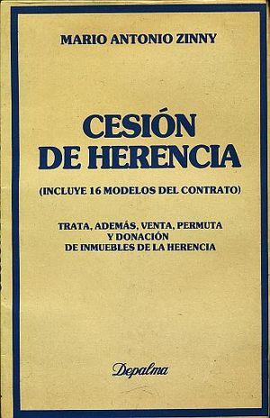 CESION DE HERENCIA