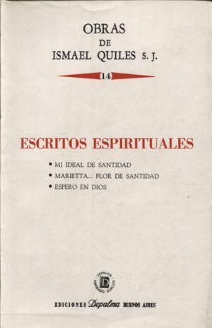 ESCRITOS ESPIRITUALES / VOL. 14