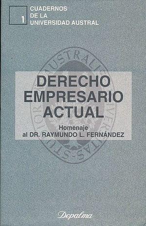 DERECHO EMPRESARIO ACTUAL