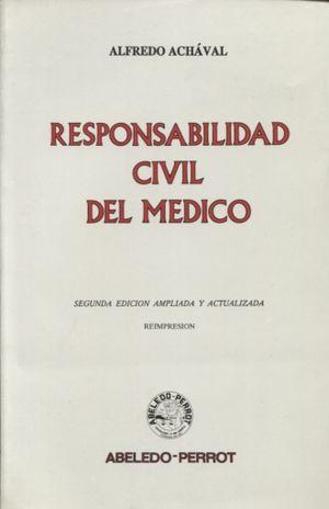 RESPONSBILIDAD CIVIL DEL MEDICO