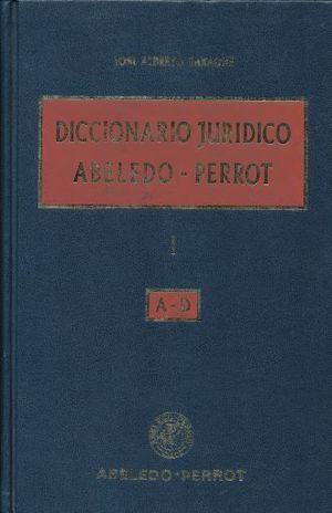 DICCIONARIO JURIDICO ABELEDO PERROT / 3 TOMOS / PD.
