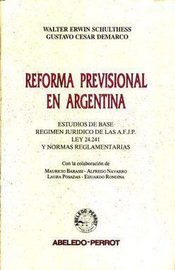 REFORMA PREVISIONAL EN ARGENTINA