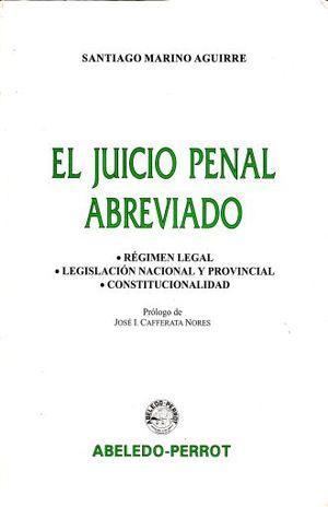 JUICIO PENAL ABREVIADO, EL