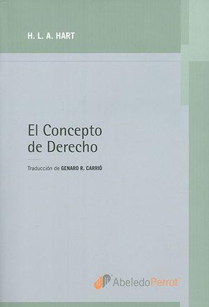 CONCEPTO DE DERECHO, EL / 3 ED.