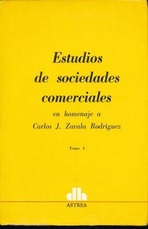 ESTUDIOS DE SOCIEDADES COMERCIALES