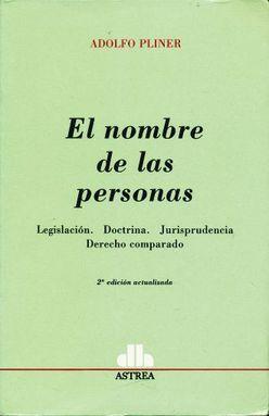 NOMBRE DE LAS PERSONAS, EL