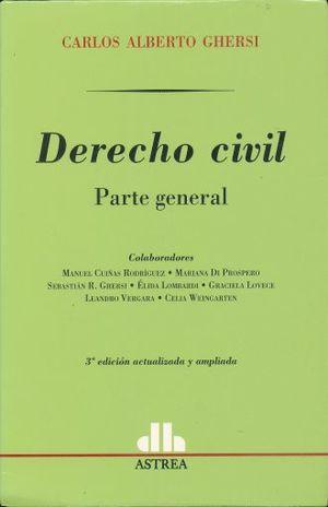 DERECHO CIVIL. PARTE GENERAL / 3 ED.