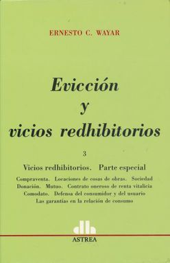 EVICCION Y VICIOS REDHIBITORIOS / TOMO 3