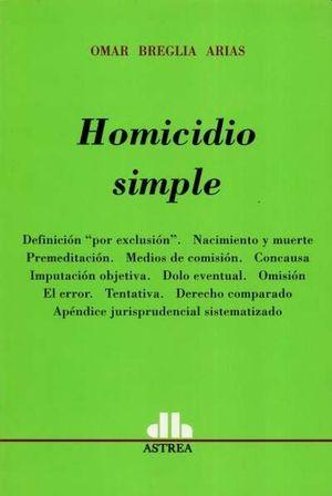 Homicidio simple