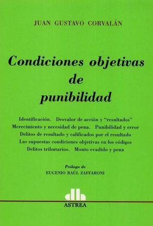 Condiciones objetivas de punibilidad