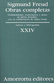 OBRAS COMPLETAS / SIGMUND FREUD / TOMO XXIV. INDICES Y BIBLIOGRAFIAS