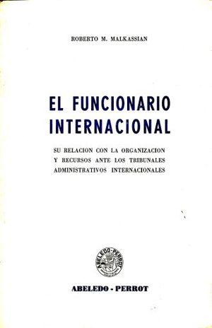 FUNCIONARIO INTERNACIONAL