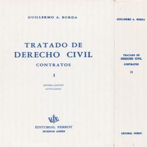 TRATADO DE DRECHO CIVIL. CONTRATOS / 2 TOMOS / 7 ED.