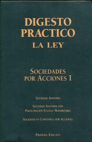 DIGESTO PRACTICO. SOCIEDADES COMERCIALES / 3 TOMOS / PD.