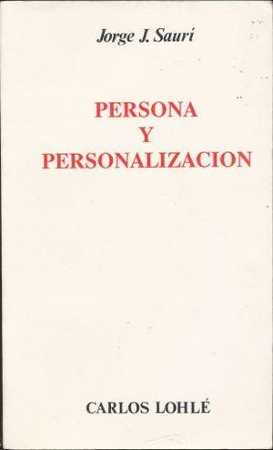PERSONA Y PERSONALIZACION