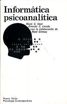INFORMATICA PSICOANALITICA