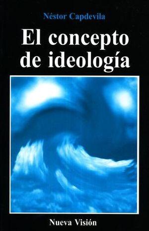El concepto de la ideología