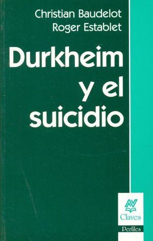 Durkheim y el suicidio