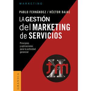 GESTION DEL MARKETING DE SERVICIOS, LA