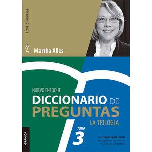 DICCIONARIO DE PREGUNTAS. LA TRILOGIA / TOMO 3 / 2 ED.