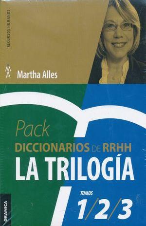 PAQ. DICCIONARIOS DE RRHH. LA TRIOLOGIA / DICCIONARIO DE COMPETENCIAS / DICCIONARIO DE COMPORTAMIENTOS / DICCIONARIO DE PREGUNTAS