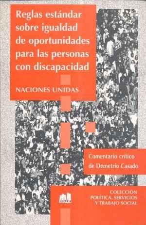 REGLAS ESTANDAR SOBRE IGIALDAD DE OPORTUNIDADES PARA LAS PERSONAS CON DISCAPACIDAD